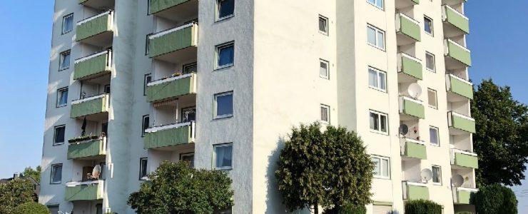 Vermietet: Schöne 2 Zimmer Wohnung mit Balkon in Hamm-Heessen zu vermieten