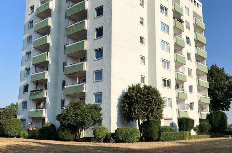 Vermietet: Wohnen mit Ausblick – Schöne 2-Zimmer Wohnung in Hamm-Heessen zu vermieten!